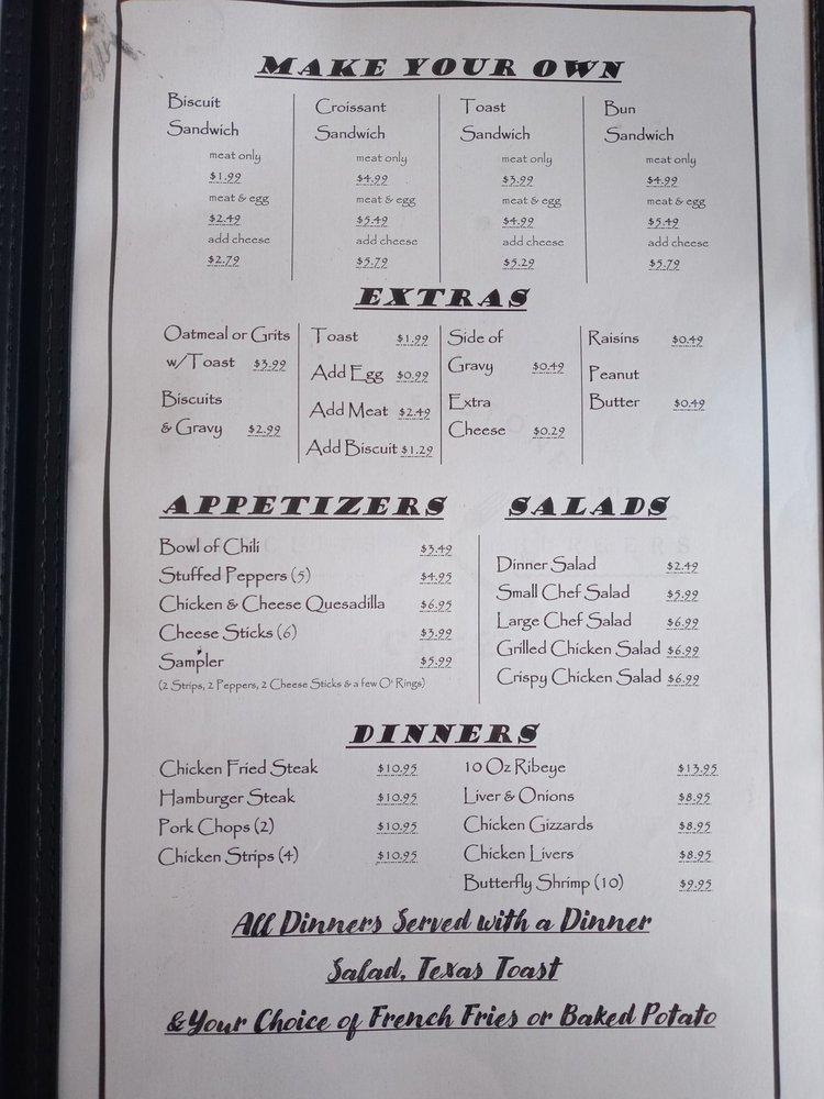 Cornerstone Cafe: 202 W Main St, Gainesville, TX