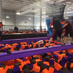 photo of altitude trampoline park gulfport ms united states jousting