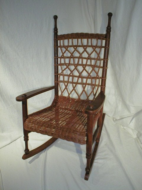 Photo of Chair Caning & Wicker Repair - Mooresville, NC, United States.  Antique - Chair Caning & Wicker Repair - Antiques - 165 Royalton Rd