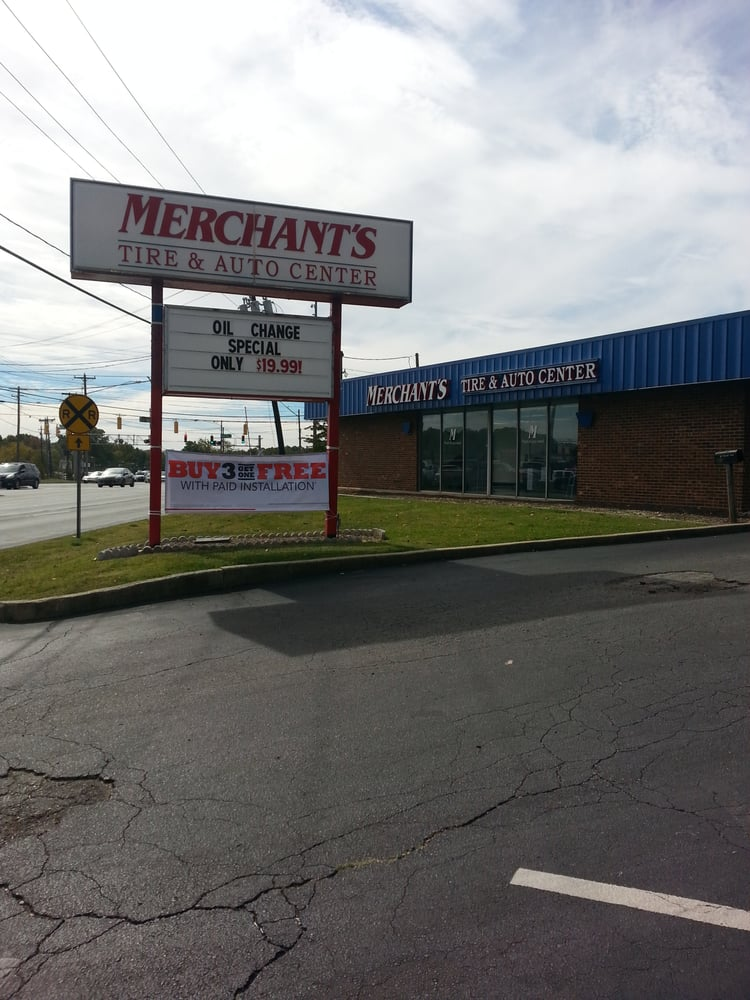 Merchants Tire Near Me >> Merchant's Tire & Auto Centers - Tires - 105 College Rd, Greensboro, NC - Phone Number - Yelp