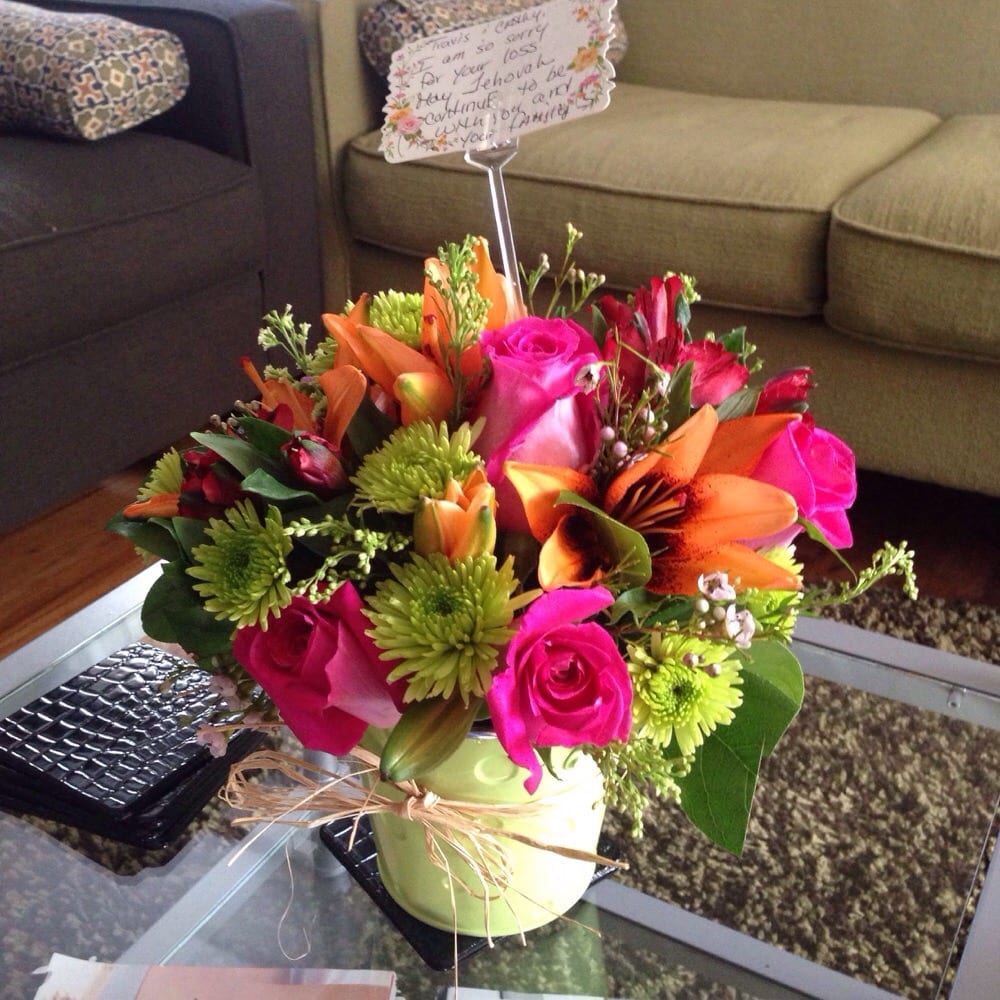 My Friend In Las Vegas Nv Ordered These Beautiful Flowers And I