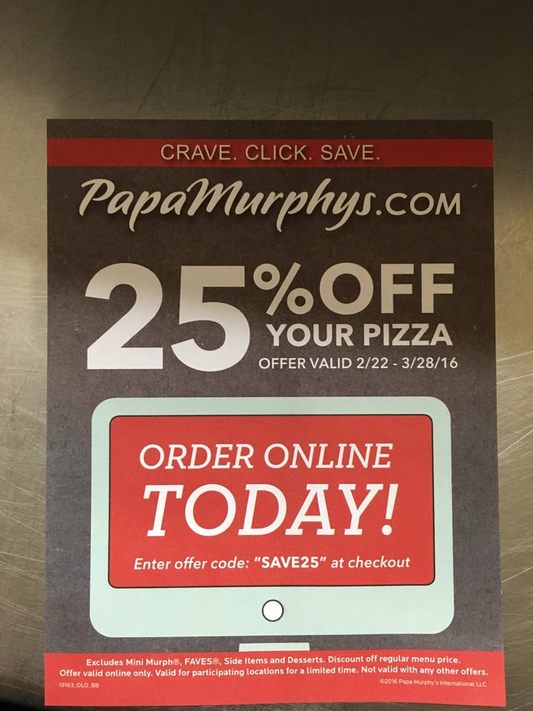 papa murphys coupon codes canada