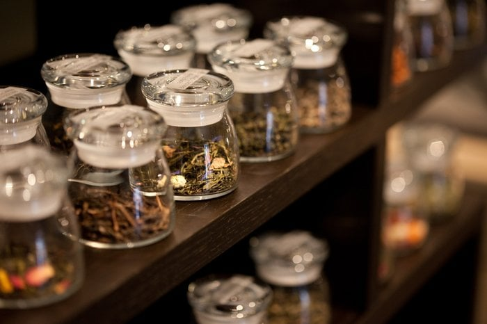 discover your favorite loose leaf tea at the tea display yelp