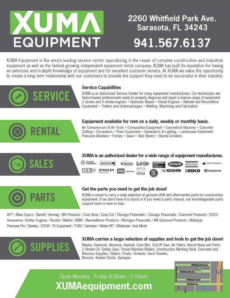 Photos for XUMA Equipment - Yelp