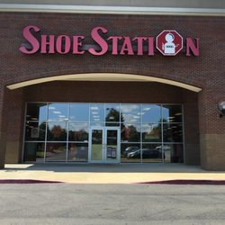 Started in , Shoe Station is a chain of shoe retailers. Located in Mobile, Ala., the self-service, open-shelf store stocks more than 60 name brands. Shoe Station provides an array of footwear products for men, women, children and sporting purposes.