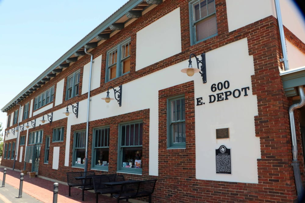 Santa Fe Railroad Depot and Harvey House: 600 E Depot St, Brownwood, TX