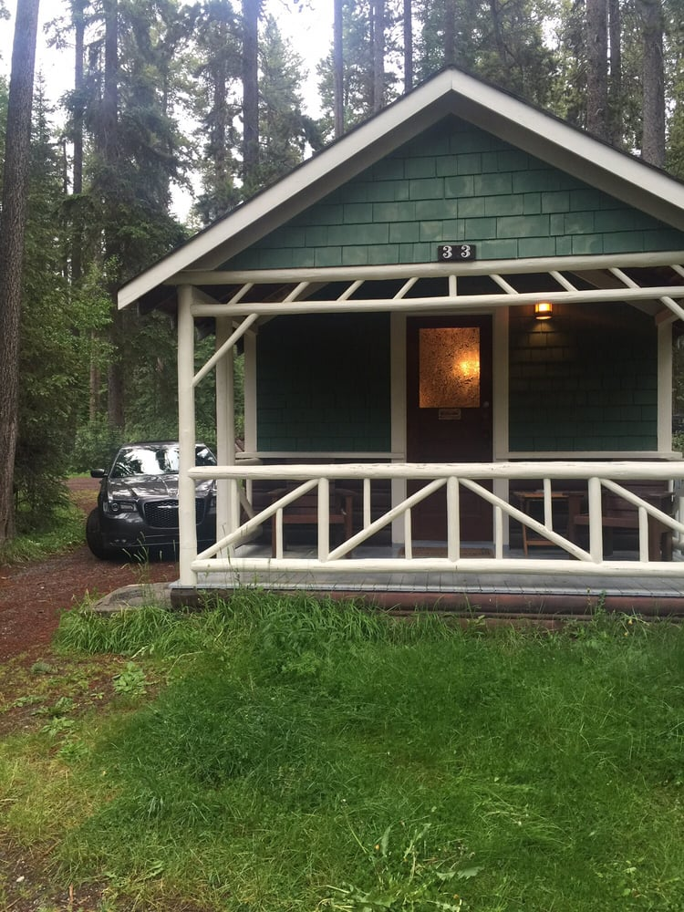 Cabin yelp for Johnston canyon cabins