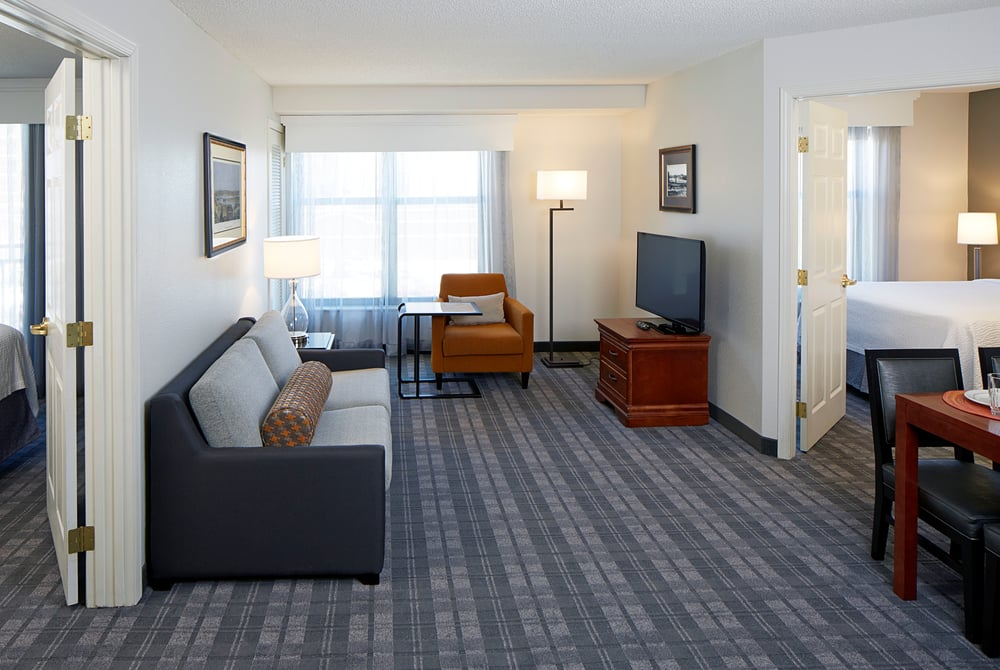 Two Bedroom Suite At The Residence Inn Minneapolis Downtown At The Depot Yelp