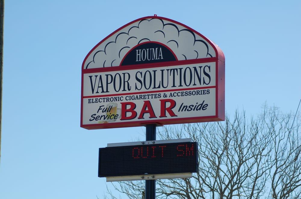 Vapor Solutions Houma: 6656 W Main St, Houma, LA