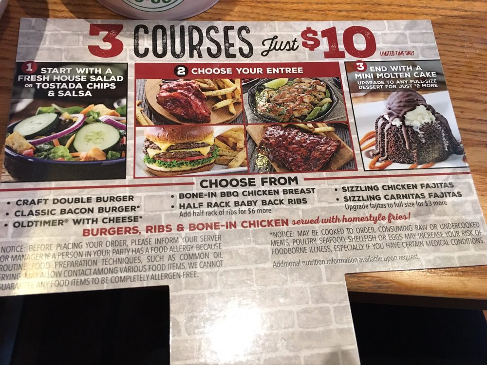 It's just a graphic of Rare Chilis Menu Printable