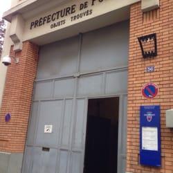 Prefecture de police service des objets trouves - Prefecture de police porte de clignancourt ...