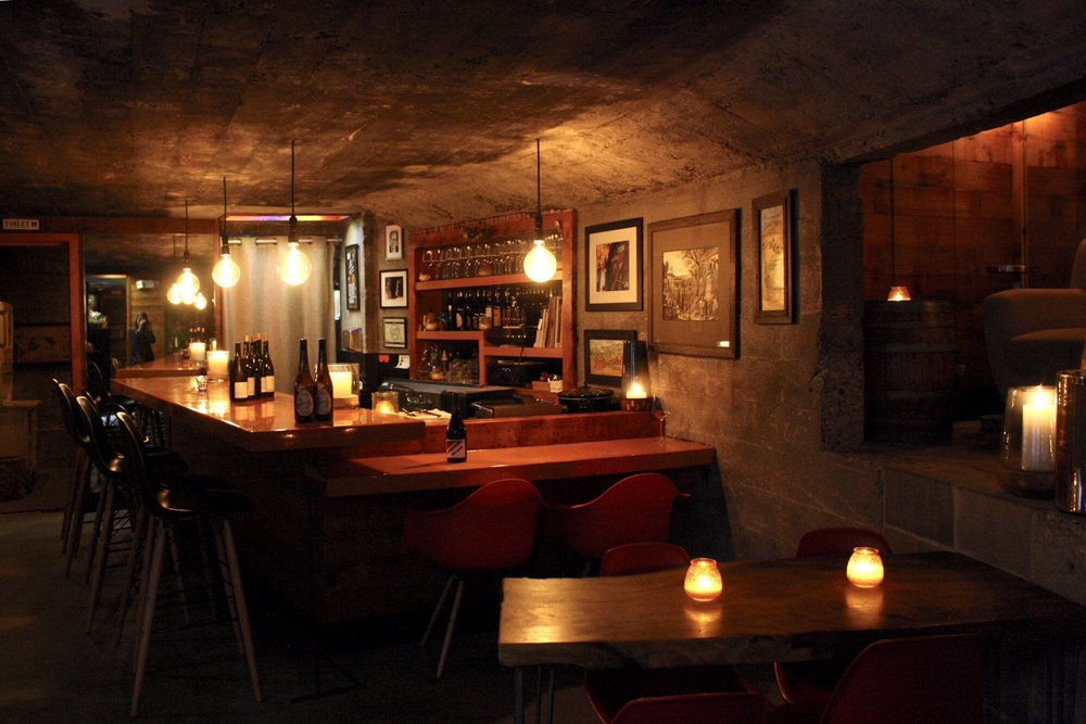 Les Caves: A Winery Bar