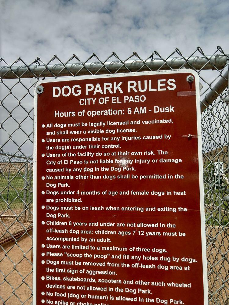 Westside Community Rec Center & Dog Park: 7400 High Ridge, El Paso, TX