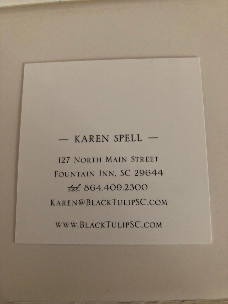 Black Tulip: 127 N Main St, Fountain Inn, SC