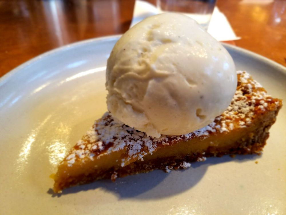 Momofuku crack pie with almond ice cream yelp for 707 foodbar grand junction