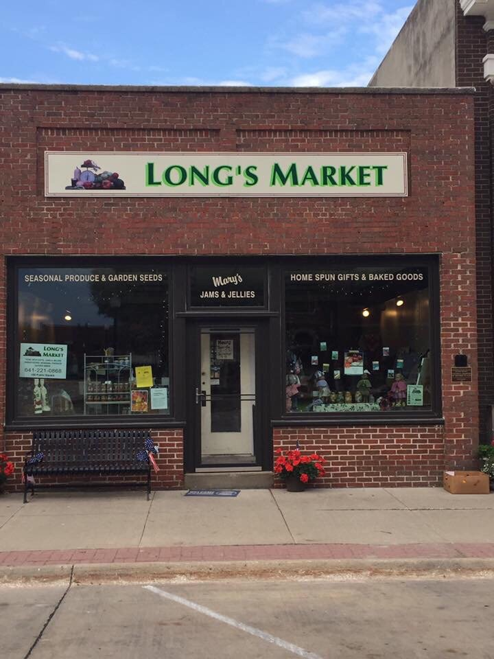 Long's Market: 106 Public Sq, Greenfield, IA