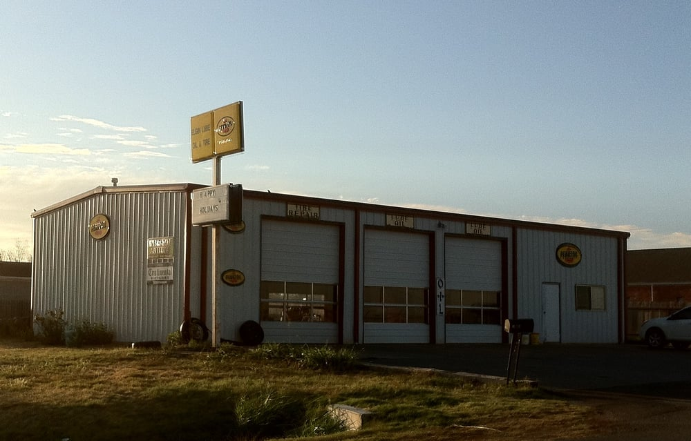 Elgin Lube Oil and Tires: 610 A St, Elgin, OK