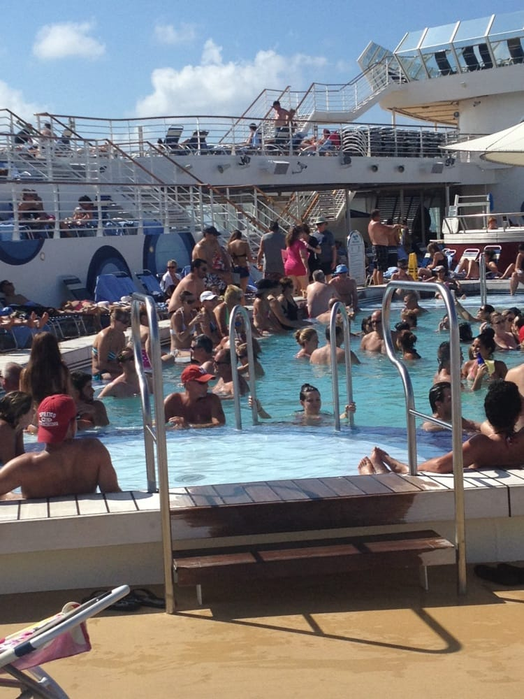 No chairs at the pool fun yelp - Allure of the seas fort lauderdale port address ...