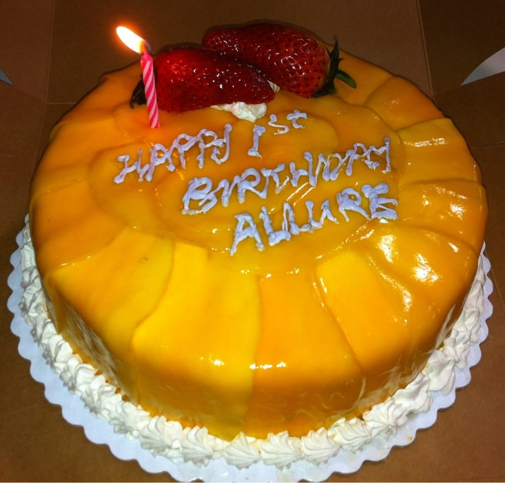 Allure Was Born March 01 2011 Cake For The 1st Birthday In 2012