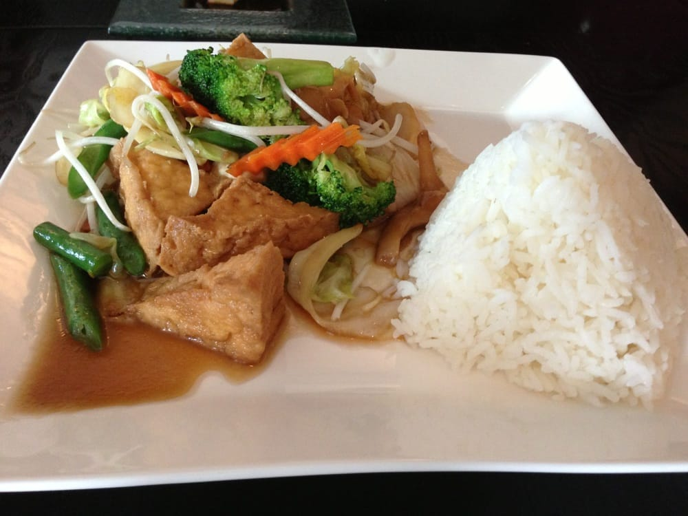 Mix veggie tofu in garlic sauce yelp for 22 thai cuisine yelp