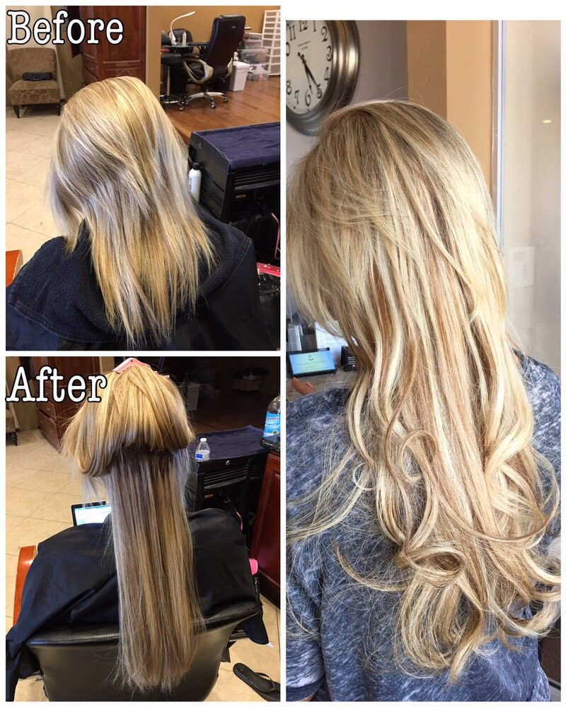 Color Great Lengths Extensions Yelp