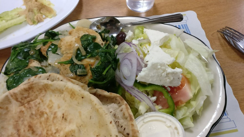 Peters Greek Kitchen Waltham Menu