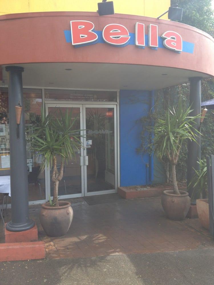 Bella Restaurant Rowville Menu