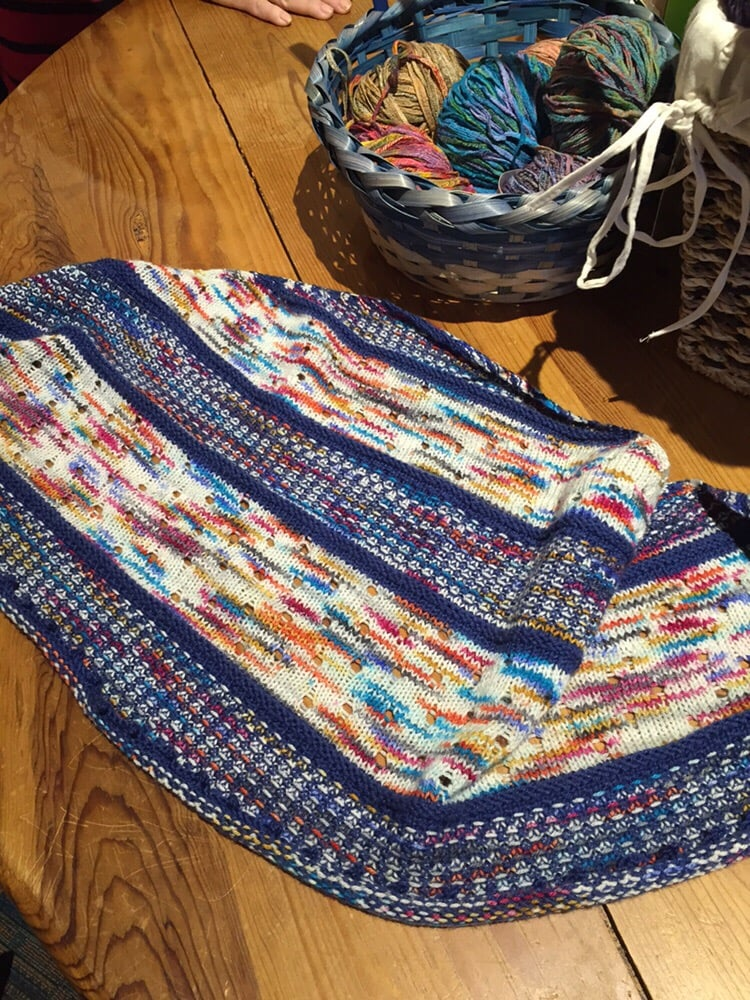 Knitting Events Near Me : Double scoop scarf on ravely yelp