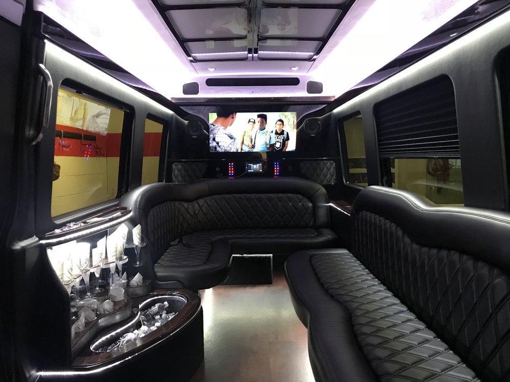 Mercedes Benz Sprinter Limousine Interior Yelp