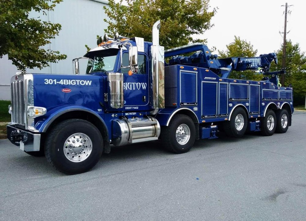 Big Tow Towing & Recovery: 375 Derwood Cir, Rockville, MD