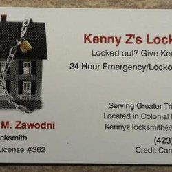 Kenny zs locksmith keys locksmiths 607 wessex dr kingsport photo of kenny zs locksmith kingsport tn united states untitled reheart Image collections
