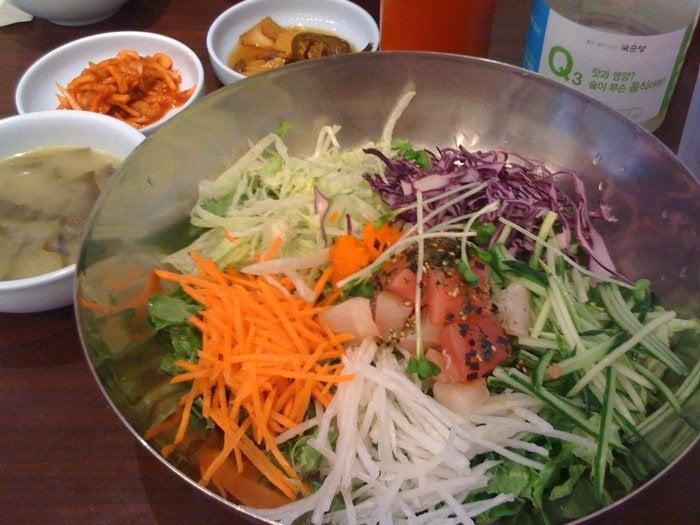 Kang leung jip cucina coreana 3250 w olympic blvd for Cucina coreana