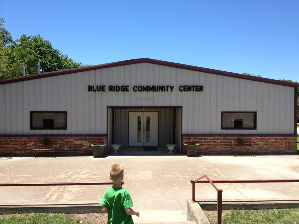 Blue Ridge Community Center: 200 W Tilton St, Blue Ridge, TX