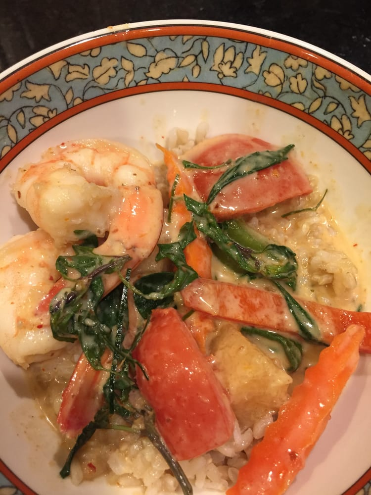 Delicious Pineapple Shrimp Coconut Curry Yelp