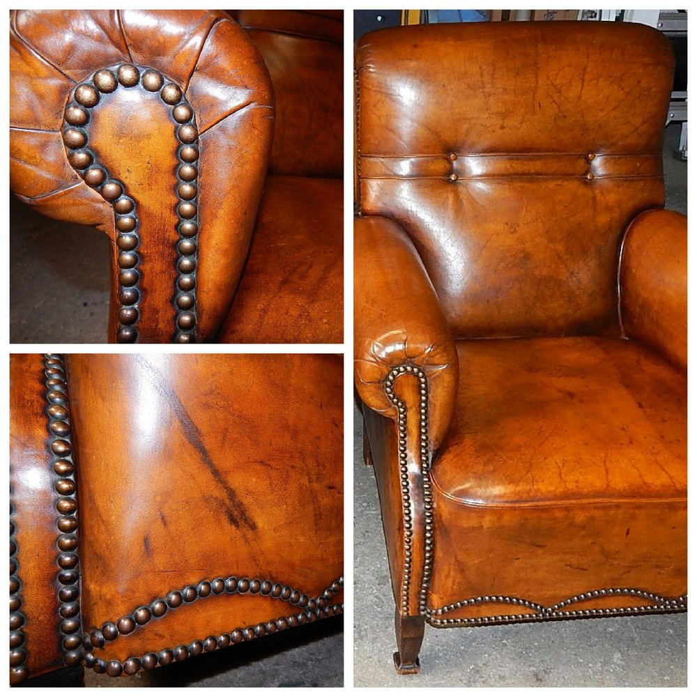 Miraculous Vintage Leather Chair Restoration Yelp Ocoug Best Dining Table And Chair Ideas Images Ocougorg