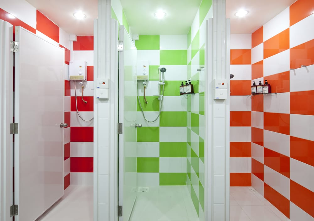 Inspiring Communal Bathrooms Set