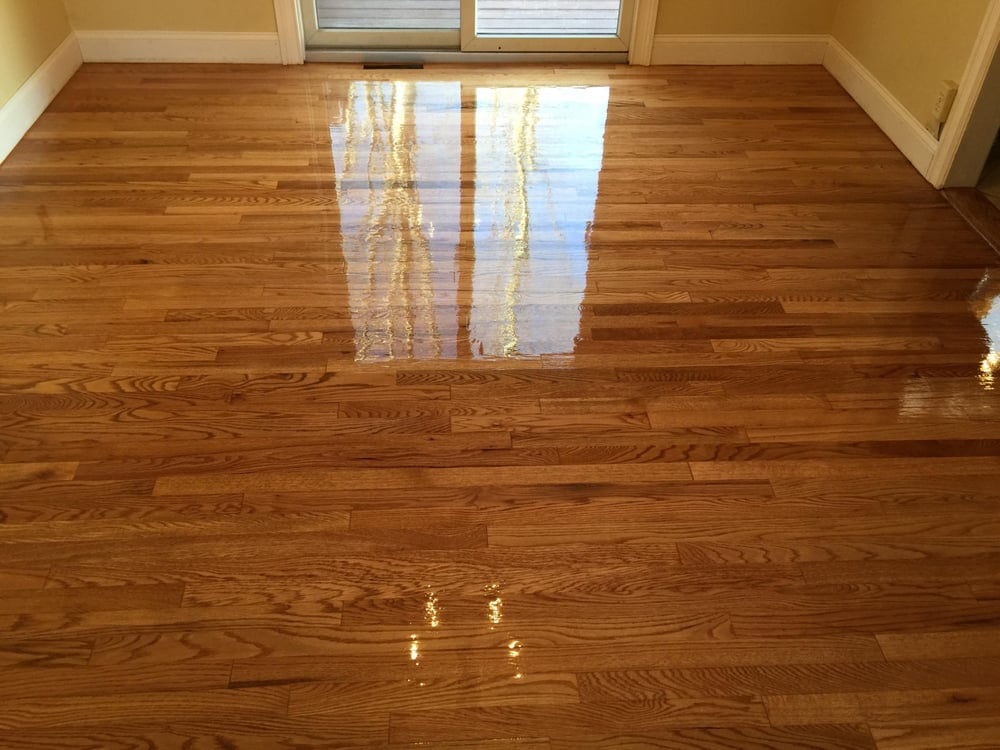 We replaced some boards and refinished the floors yelp for Hardwood floors long branch nj