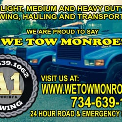 Photo of A1 Recovery & Towing - Monroe, MI, United States