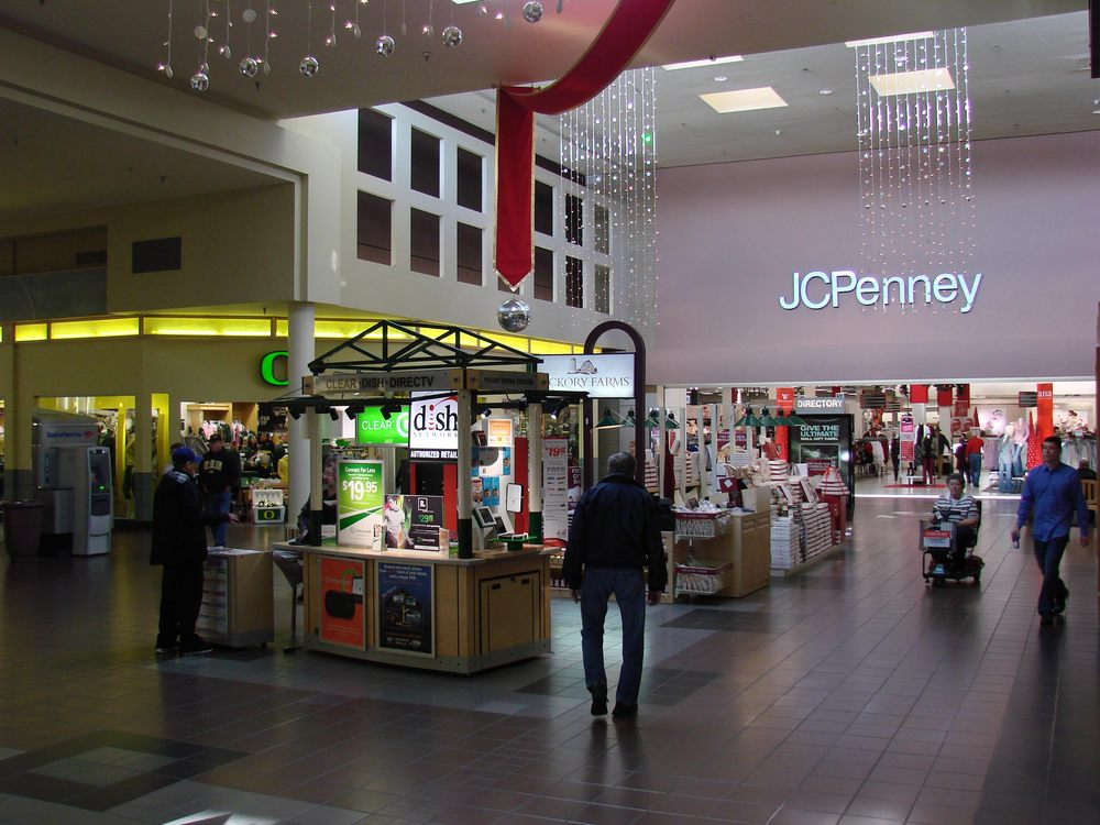 Valley river center mall jc penney