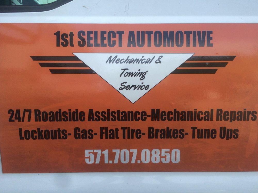 1st Select Automotive: 23571 Pebble Run Pl, Sterling, VA