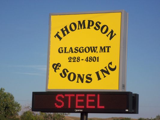 Thompson And Son S Inc 53998 Us Highway 2 Glasgow Mt Business