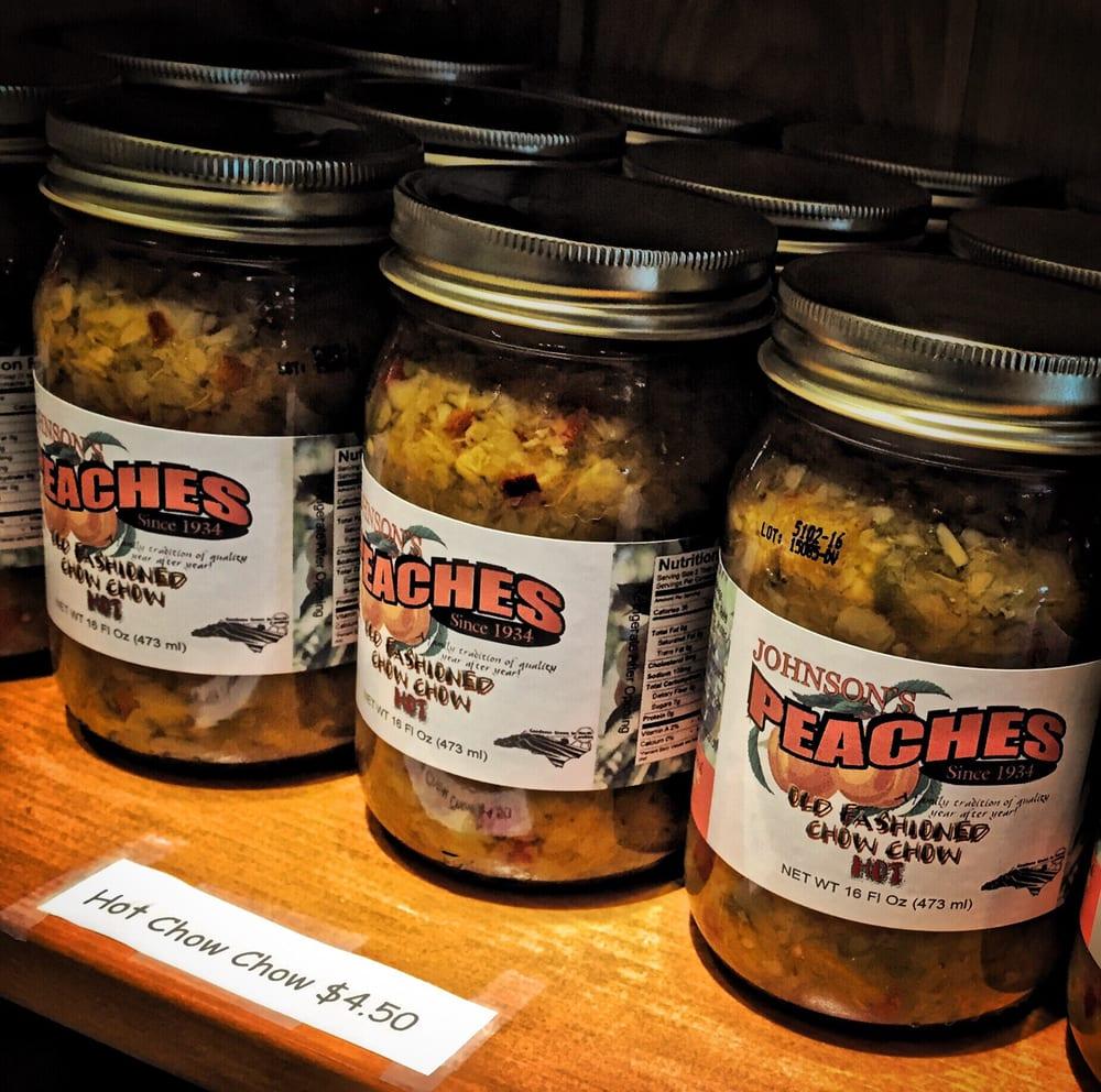 Johnson Peaches: 1348 Tabernacle Church Rd, Candor, NC