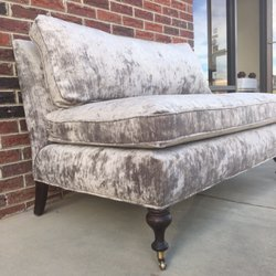 Photo Of Revived Upholstery   Denver, NC, United States. Mitchell Gold  Settee