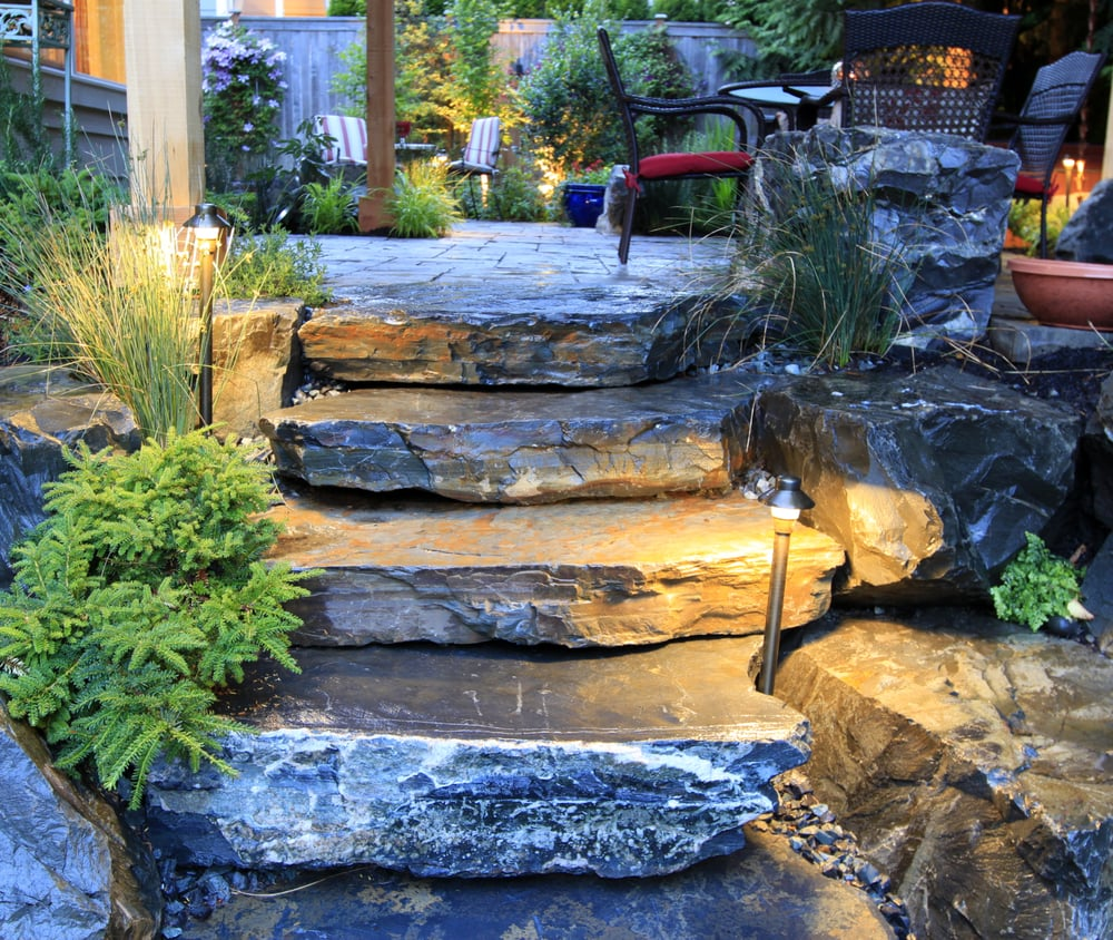 Bellevue Wa Natural Stone Landscaping