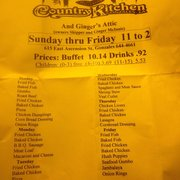 Photo Of Country Kitchen Gonzales La United States A Nice Selection