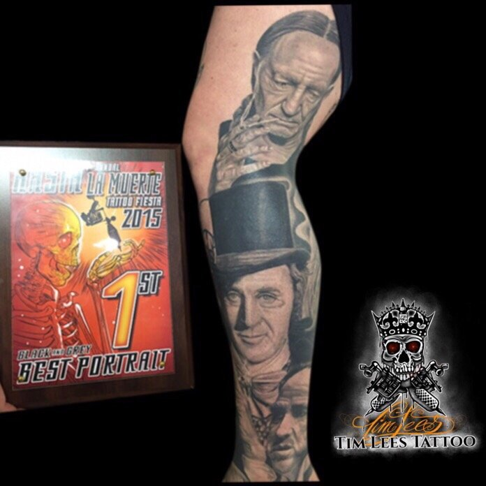 Tim Lees Is An Award Winning Tattoo Artist With A Private Studio