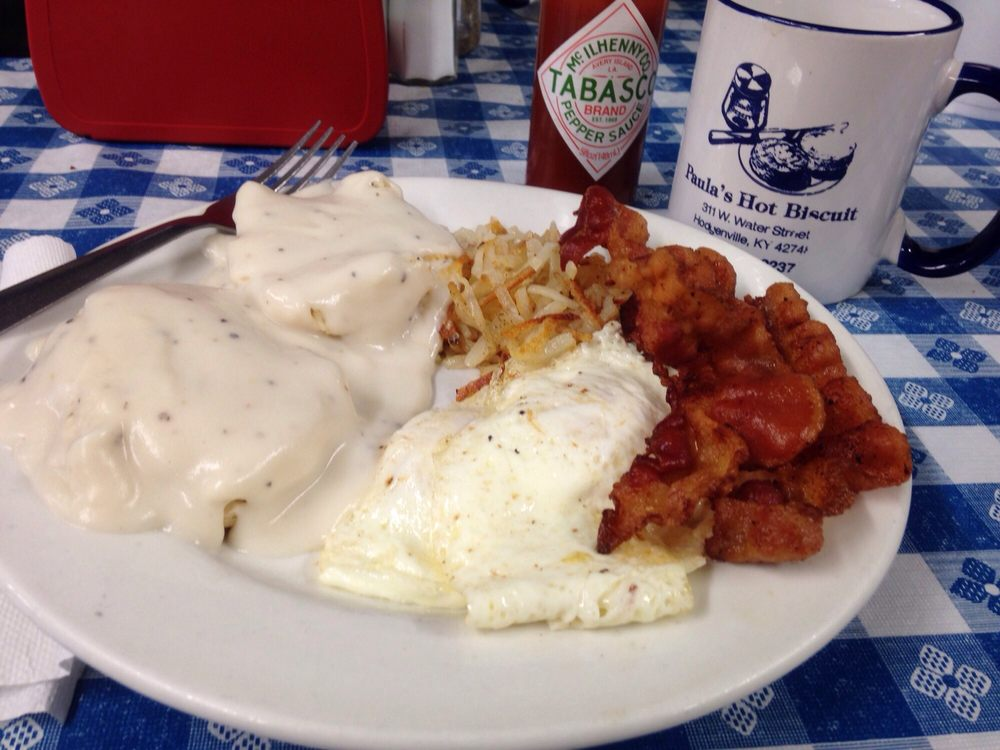 Paula's Hot Biscuit: 311 W Water St, Hodgenville, KY