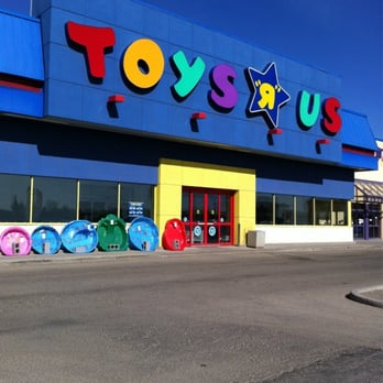ASSOCIATED PRESS. Toys R Us executives have told the companies employess that they plan to sell all of its U.S. stores. The Elizabeth, N.J. Toys R Us store is shown in this photo.
