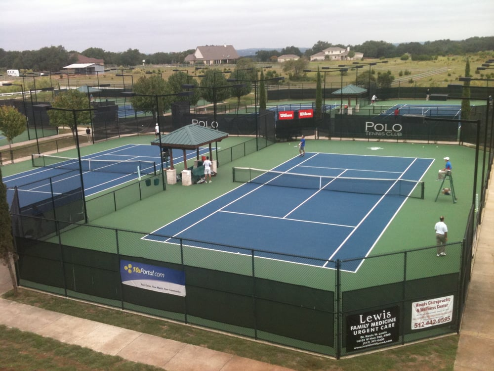 Australian Open Grand Slam Courts In Dripping Springs