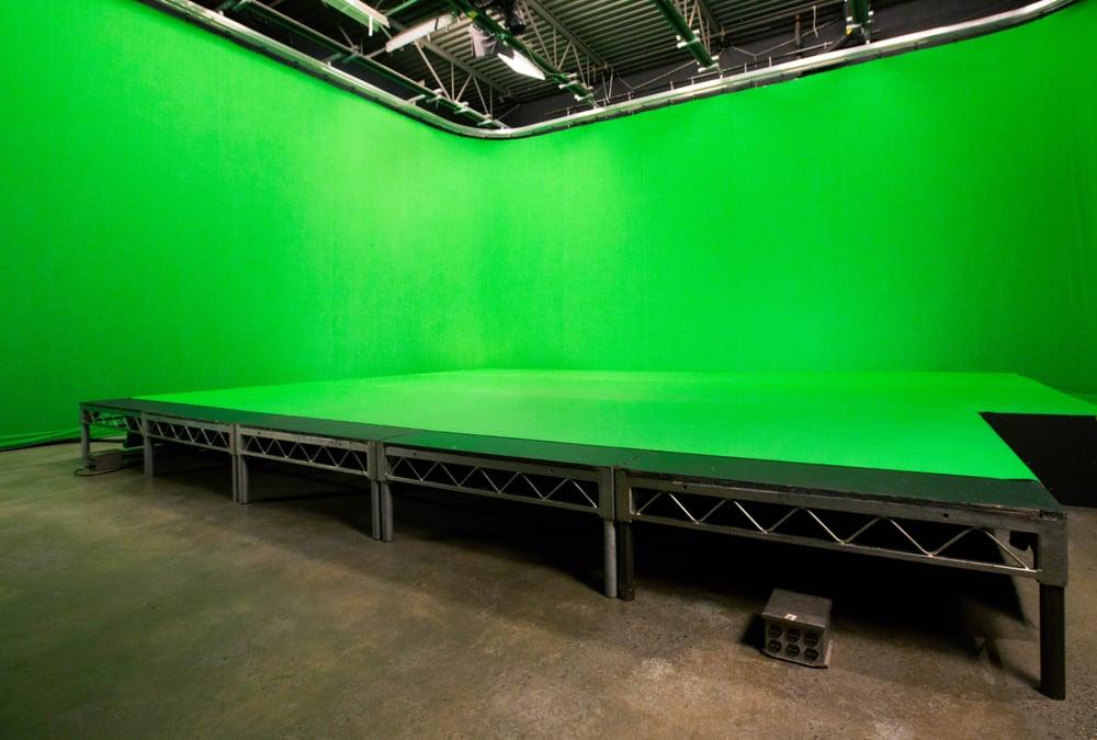 pre lit green screen with kino flo lights yelp